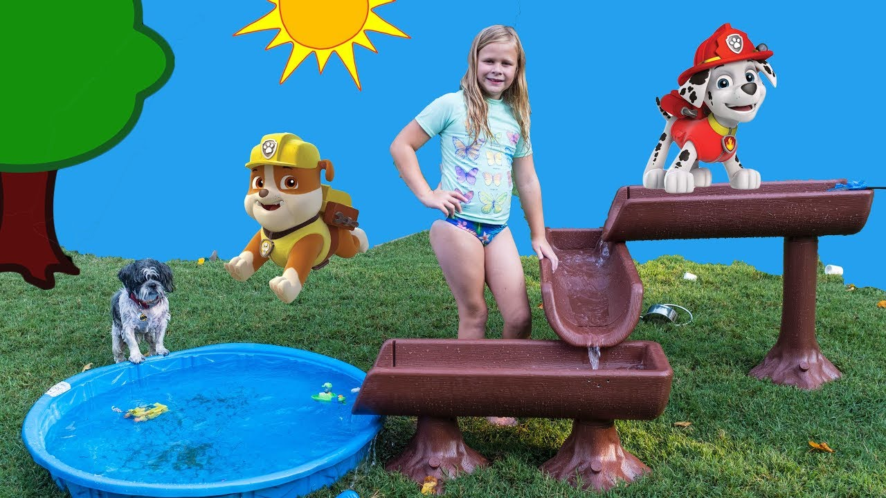 Download The Assistant Plays with Paw Patrol Water Table Surprise with PJ Masks Toys