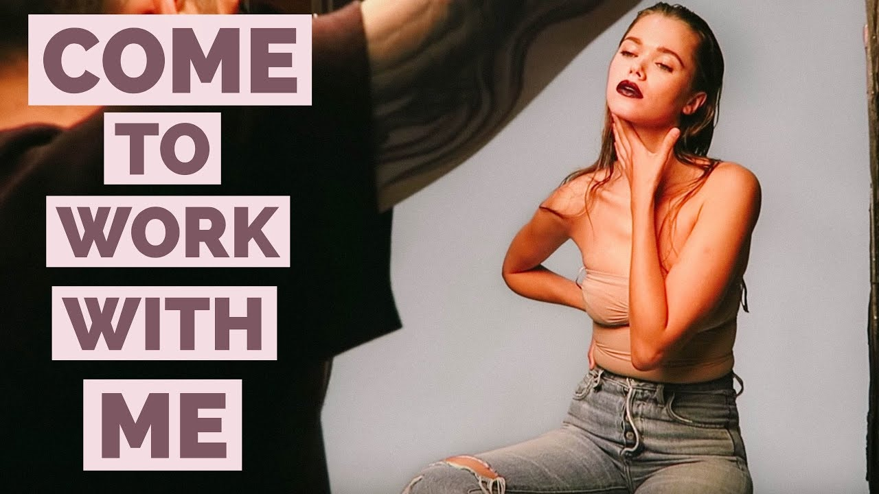 Come To Work With Me Vlog | Fashion Model