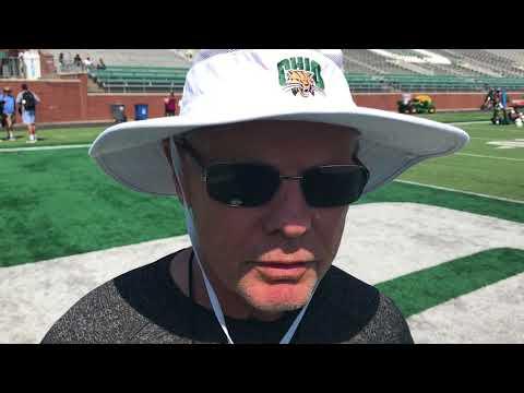 Ohio University head football coach Frank Solich talks new rules for the season.