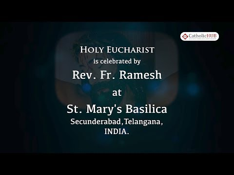English Mass @ St  Mary's Basilica, Secunderabad, HYD, TS, IND  25 5 19