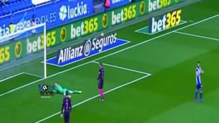 اهداف مباراة برشلونة [1-2] ديبورتيفو لاكورونا [عصام الشوالى] [12-3-2017] الدورى الاسبانى HD