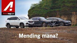 Komparasi SUV Terkini - Wuling Almaz vs Honda CR-V lawan Mazda CX-5