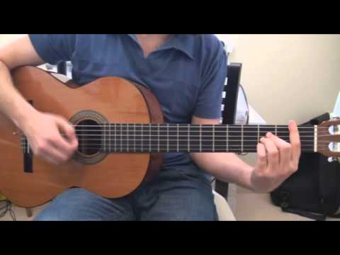 How To Play The Vision Of Love - Kris Allen On Guitar Tutorial
