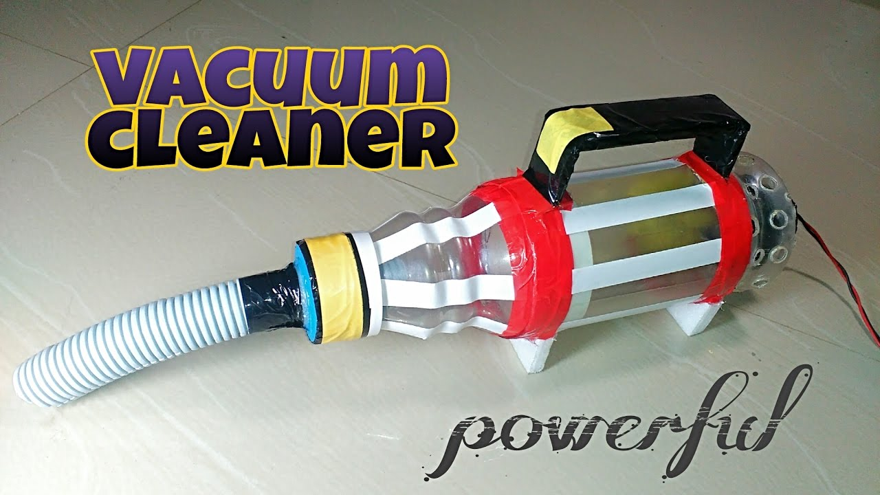 How To Make Powerful Vacuum Cleaner At Home Easy And Fast