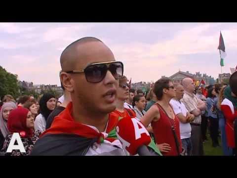 Download Duizenden bij pro-Palestijns protest