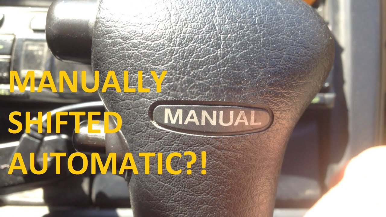 Subaru AUTOMATIC MANUAL Mode - HOW IT WORKS