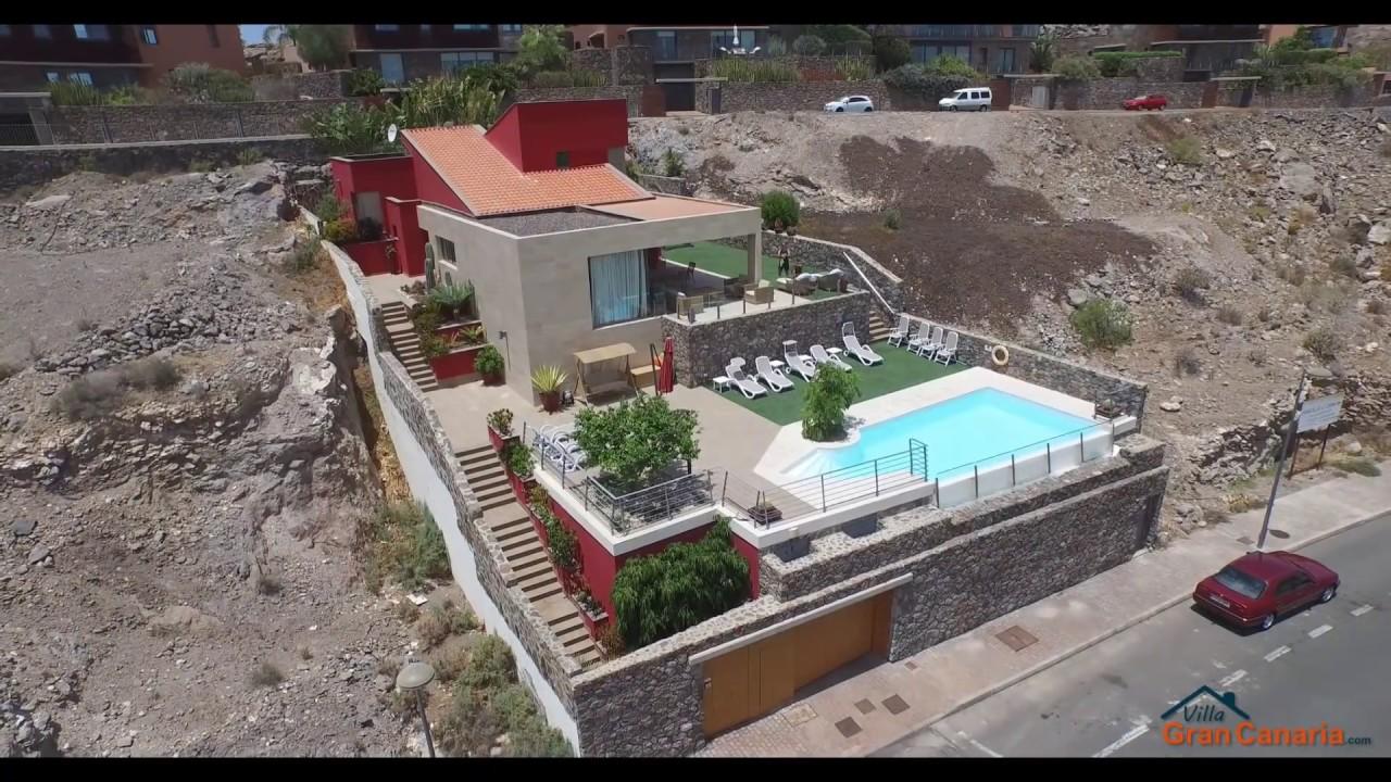 Salobre villa 6 holiday rental villa gran canaria for Villas en gran canaria
