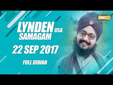 LYNDEN DIWAN | 22 Sep 2017 | Full Diwan | Bhai Ranjit Singh Khalsa Dhadrianwale
