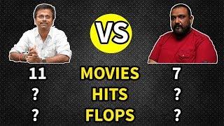 AR Murugadoss vs Siva Who is The Best Director ??? | Sarkar vs Viswasam | Blockbusters/Hits/Flops