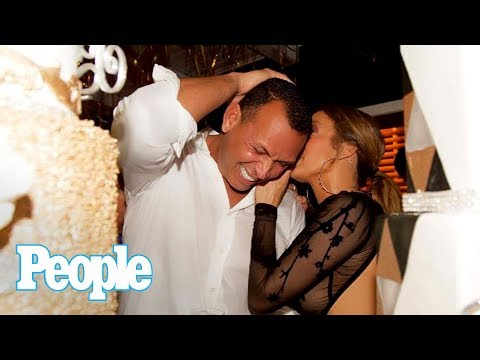 Inside J.Lo & A-Rod's Romantic 'J-Rod' Birthday Bash: 24K Gold Cake & More | People NOW | People