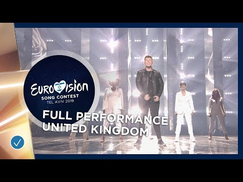 United Kingdom 🇬🇧LIVE  - Michael Rice - Bigger Than Us - Full Performance - Eurovision 2019