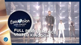 united kingdom live michael rice bigger than us full performance eurovision 2019