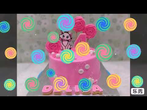 Menghias Kue Ulang Tahun Cantik Tema Kucing Youtube