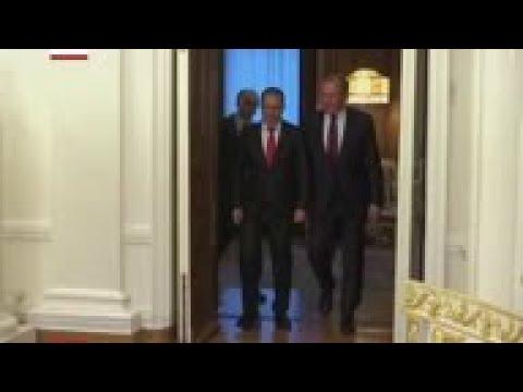 Lavrov aseguró el apoyo de Rusia a Venezuela