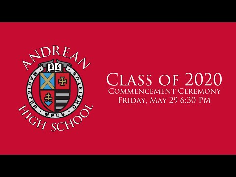 Andrean High School 2020 Commencement Ceremony