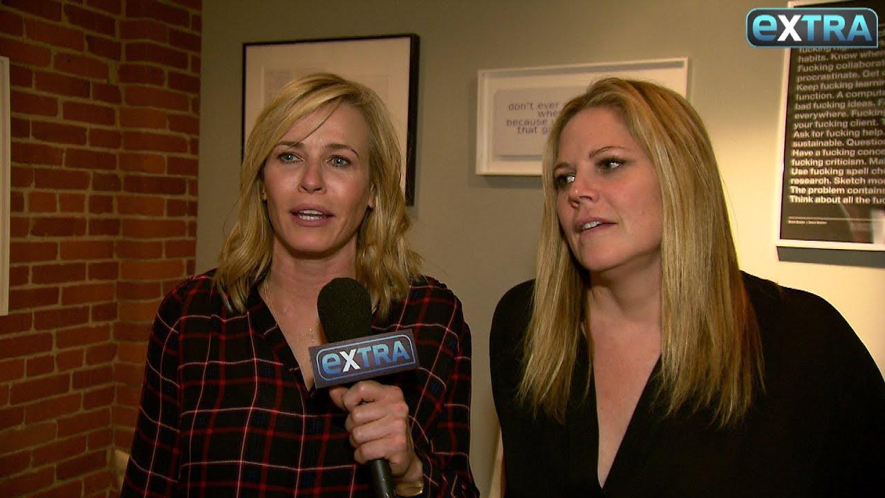 Chelsea Handler Mary Mccormack S Take On The Presidential Debate Youtube