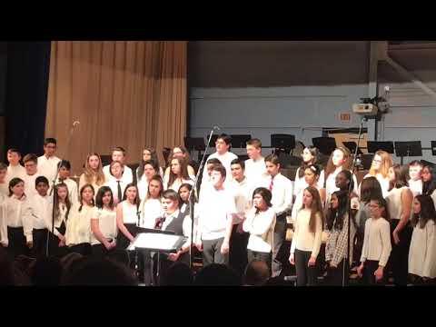 Hallelujah | Marshall Simonds Middle School  Winter Concert