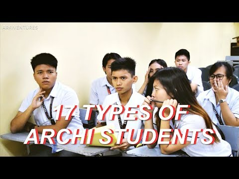 ARKIVENTURES EP02: TYPES OF ARCHITECTURE STUDENTS