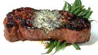Seared Steaks & Garlic Butter : Entree Recipes