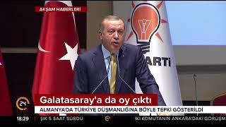Cumhurbaşkanı Erdoğan'ın Alman seçmene yaptığı çağrı karşılık buldu