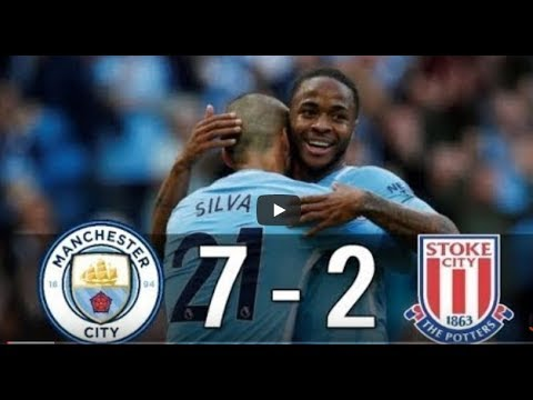 Download Manchester City vs Stoke City 7-2 All Goals & Extended Highlights (14-10-2017)