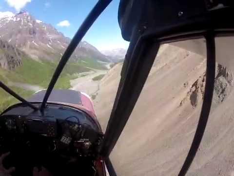 Flying the valley