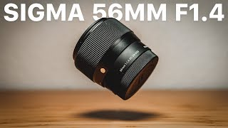 SIGMA 56MM 1.4 REVIEW // The BEST Portrait Lens for Sony E & MFT?!