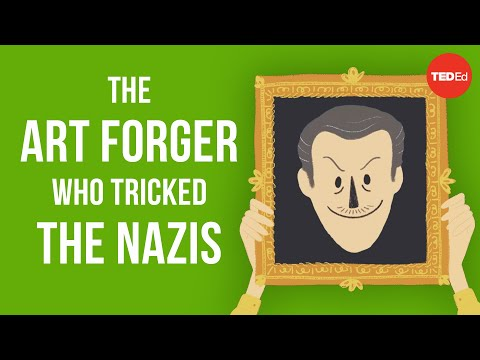 Video image: The art forger who tricked the Nazis - Noah Charney