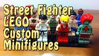 STREET FIGHTER LEGO: Custom Minifigure Review