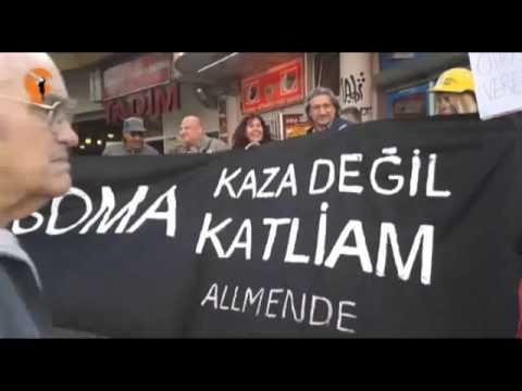Almanya'da Soma'yla dayanışma eylemİ