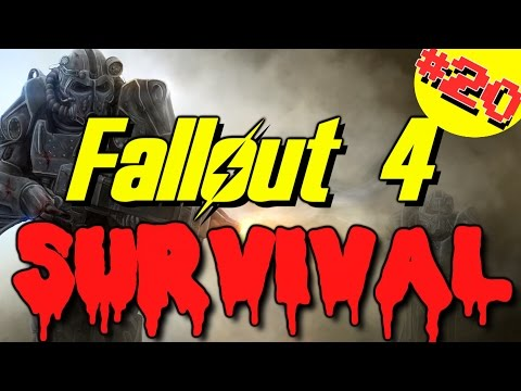 Fallout 4: Survival Mode - Part 20 - Saugus Ironworks