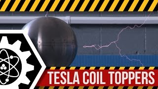 Top Load Testing for a 6-inch Tesla Coil: High Voltage Lab