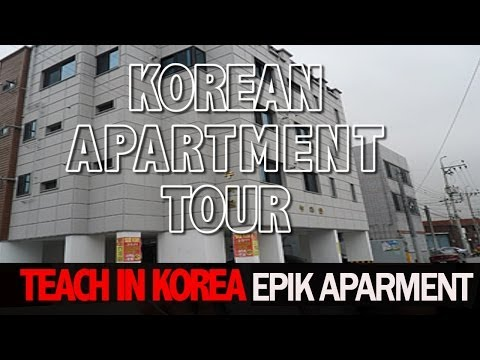 MY KOREAN APARTMENT TOUR | TEACH WITH EPIK