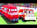 Download Trenuletul Troy si Ambulanta în Orasul Masinilor| masini si camioane, desene pentru copii