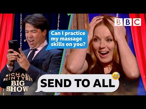 Send To All with 'Spice Girl' Geri Horner - Michael McIntyre's Big Show: Episode 1 - BBC One