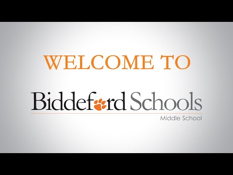 Biddeford Middle School Tour