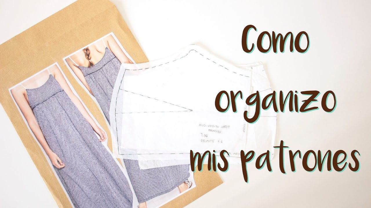 Sewing Tips - Cómo organizo mis patrones | MANNEKEN - YouTube