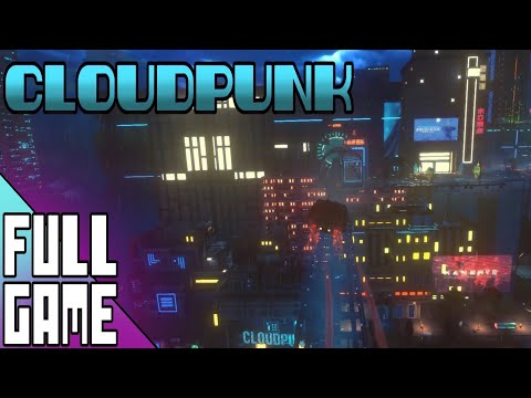 Cloudpunk - Full Game Longplay (No Commentary)
