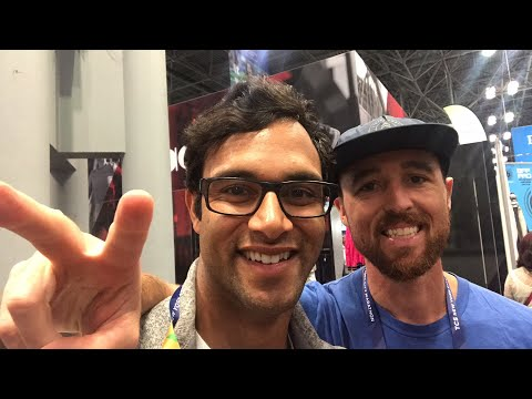 Live at the NYC Marathon Expo! Watch us sample/eat/wear everything!