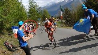 Rohan Dennis hit the fan