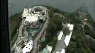 360 View over Ocean Park in Hong Kong