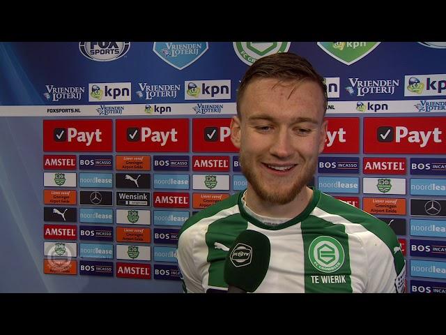 Enorme ontlading bij Mike te Wierik na de 3-3 tegen PSV