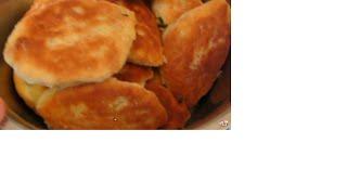 Пирожки жареные с рисом и яйцом.Рецептот мамы