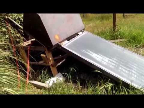 Awesome Solar Hot Tub Setup