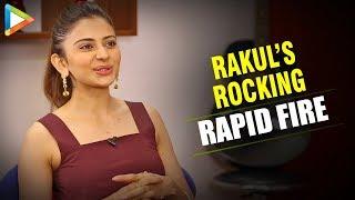 """Rakul Preet Singh: """"If He was Single, I'd Marry Ranveer Singh, I'm His Huge FAN""""  Rapid Fire"""