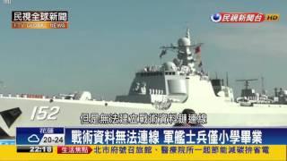 【民視全球新聞】南海大比拚 中美軍力比一比!