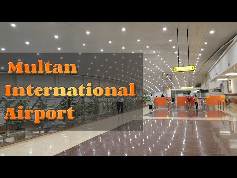 Latest New  Multan  International   Airport  HD video HD