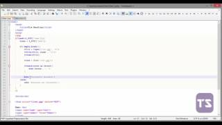 How to read and write to a text file PHP - Lecture 54 (PHP Tutorial)