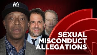 Russell Simmons, Rep. John Conyers, Charlie Rose And Brett Ratner Accused Of Sexual Misconduct