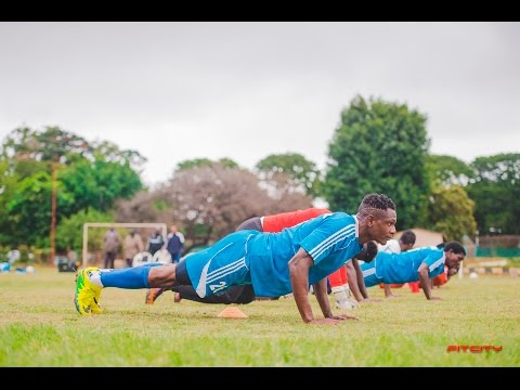 FITCITY training with Lusaka Dynamos Football Club